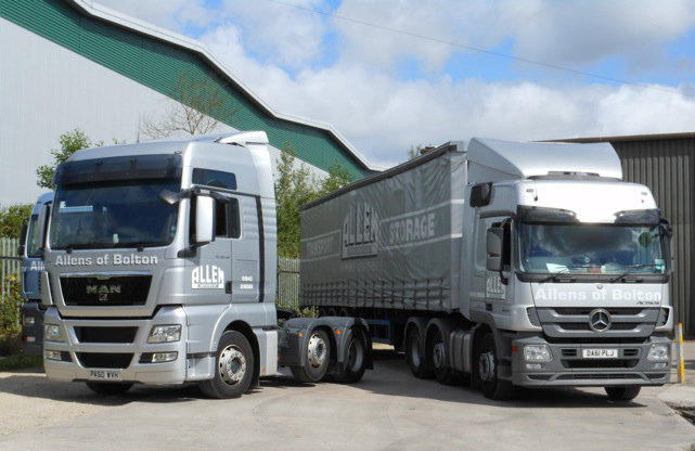 Road Haulage Services in Lancashire and the North