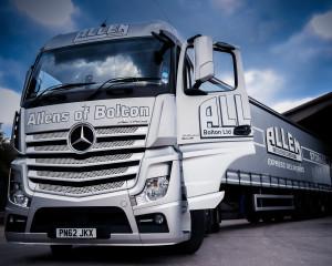 Allen Transport - New Transport Vehicles