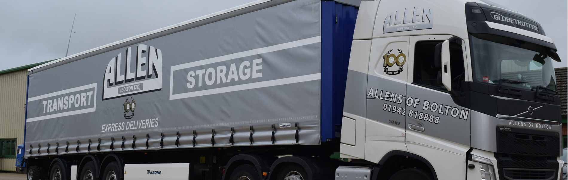 Allen Transport - Haulage and Transport in Bolton