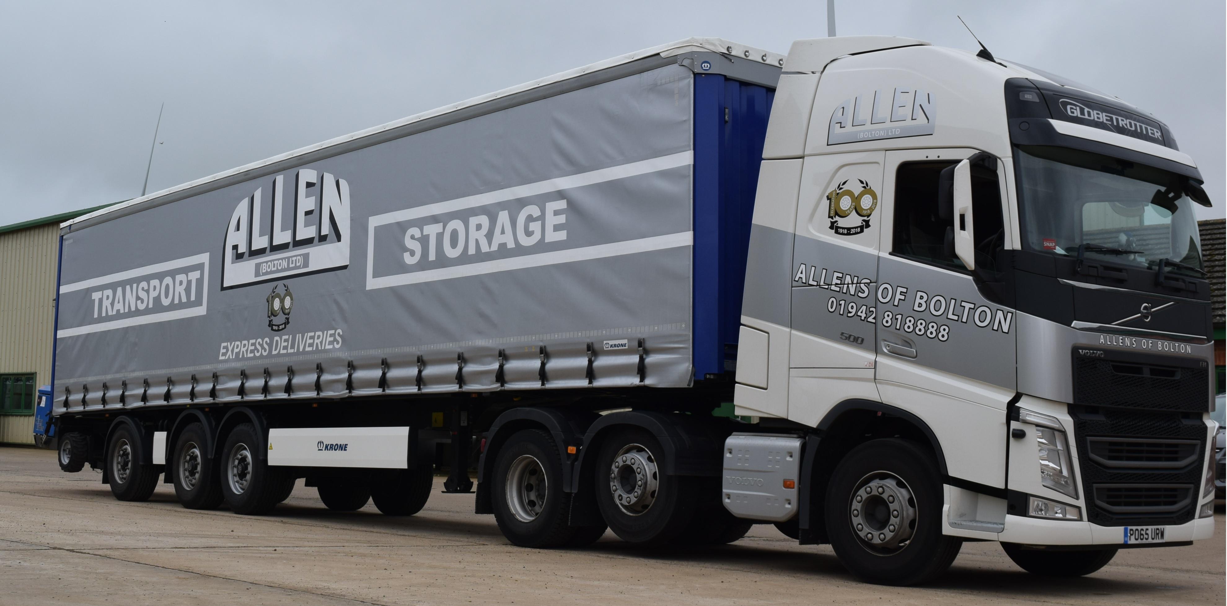 Allen Transport Haulage Bolton Trailer And Moffett