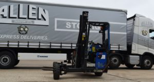 Allen Transport Bolton truck-mounted fork lift