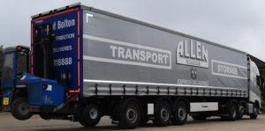 Allen Transport Bolton Trailer And Moffett